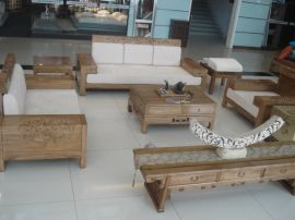 实木沙发组合,时尚个性,专业,有样品,样图提供