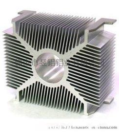厂家供应工业铝型材-LED灯饰散热器 大功率梳子型散热器铝材