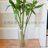 水晶人jdch 玻璃花瓶10x10x50厘米