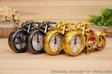 摩托車鬧鐘 創意復古 禮品家飾 歐式鬧鐘批發 辦公室擺件