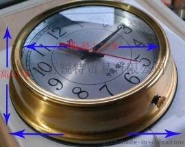 IMPA370204航海石英钟 船用时钟 船用航海计时仪 带CCS证书铜壳