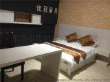 时尚酒店客房家具全套价格批发现代板式酒店家具