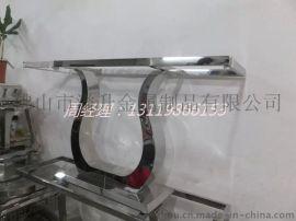 镂空电镀不锈钢茶几 304材质订制