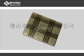 钛金不锈钢蚀刻板厂家 彩色不锈钢蚀刻价格【专业】
