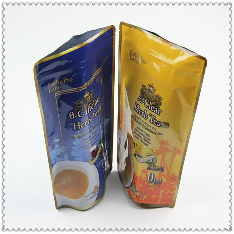 定制爆款化妆品面膜自立自封拉链袋 食品真空复合铝箔包装袋
