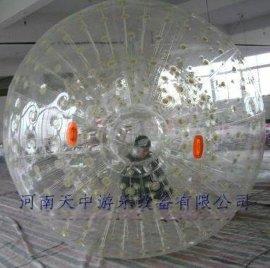安全水上气模游乐水上滚筒