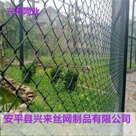 铁丝勾花网,球场勾花网,防护勾花网