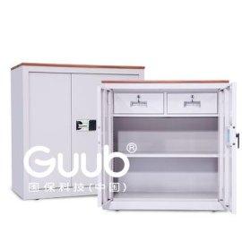 广州国保保密柜GM153-9092两层M153密码锁保密文件柜