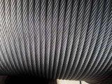 电梯钢丝绳12mm 进口剑麻芯 电梯曳引绳 光面涂油钢丝绳