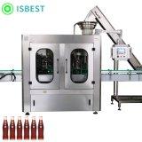 生产出售玻璃瓶水灌装生产线8头玻璃瓶水灌装机定制矿泉水灌装机
