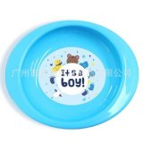 新款  餐盤 防滑防摔卡通矽膠輔食碗 兒童食具