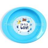 新款**餐盤 防滑防摔卡通矽膠輔食碗 兒童食具