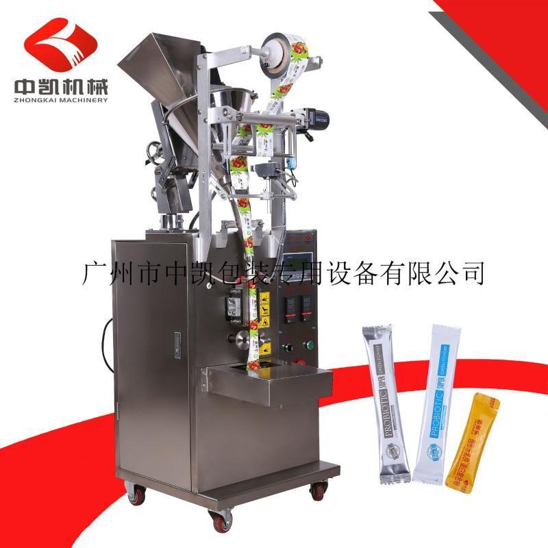 小袋粉末自动包装机小袋茶粉蛋白粉酵素粉包装机全自动定量包装