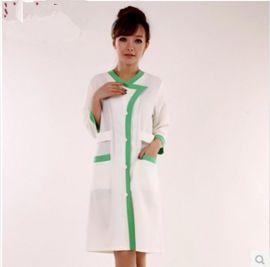 醫療護士服 美容院工作服秋冬裝 美容技師套裝 白大褂定做批發