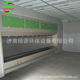 无泵水幕 环保型无泵水帘喷漆柜 漆雾处理设备 无泵水帘喷漆房