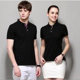 夏季diy印字logo短袖聚会POLO衫定制工作服务员t恤班服文化广告衫