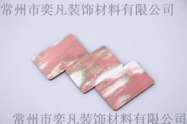 常州氟碳铝塑板 厂家大量批发挪威红色 装饰建材 专业 品质**