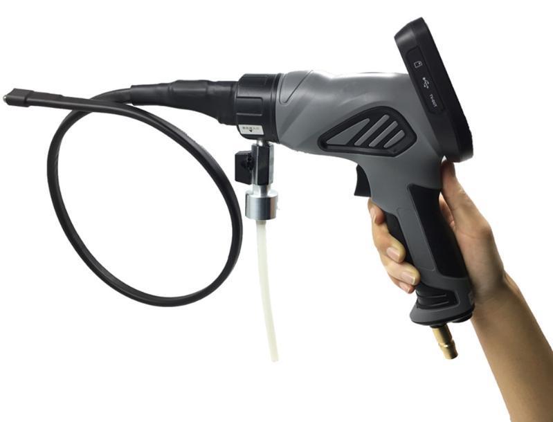 可拍照錄像汽車空調清洗內窺鏡 可視清洗噴  蒸發箱清洗內窺鏡
