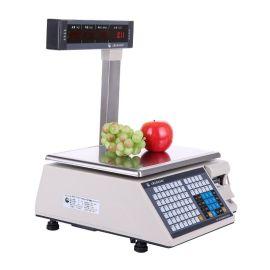 厂家供应 上海大华3-30kg不干胶条码秤