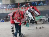 移动的恐龙道具|仿真恐龙租赁活动道具自贡厂家