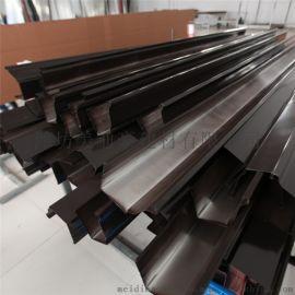 彩铝天沟 PVC檐沟 雨水槽 落水槽 集成系统