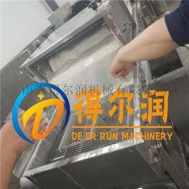 热卖DR60隧道式肉条上浆裹粉机 阜阳小酥肉裹浆机