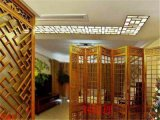 不规则门头隔断铝屏风,豪华客厅铝屏风,楼梯口铝屏风