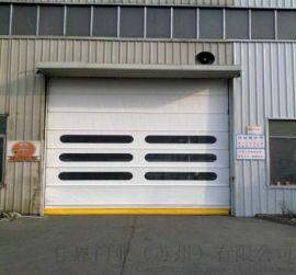 安装大型电动工业门 电动垂直工业滑升门
