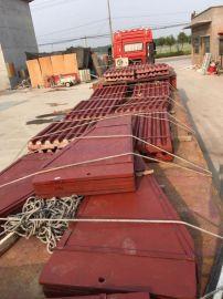 上海建设路桥山宝牌颚式破碎机PE800X1060边护板