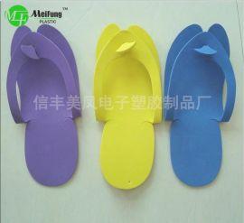 美凤厂家直销一次性折叠拖鞋居家简易美容院拖鞋女eva产品