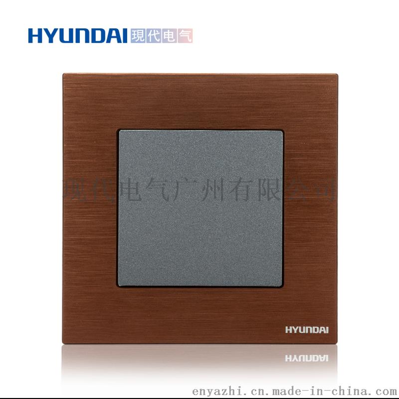 现代开关插座hyundai新款热卖开关插座K70系列86型空白面板