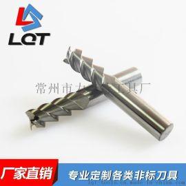 标准单刃带三刃钨钢专用铣刀 钨钢铝用刀 单刃一刀式(无涂层)