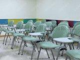 廠家批發加大寫字板布面軟包靠背學生培訓椅