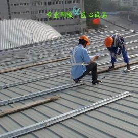鋼屋面翻新改造 體育館屋面|鋼架屋面板維修更換廠家