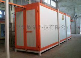 烘干固化炉 悬挂输送链条 涂装流水线 静电喷塑设备