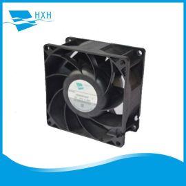 厂家批发8038涡轮增压风扇双滚珠**电焊机机柜服务器直流风扇