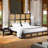 藤格格 9021 厂家批发卧室系列藤席板藤床