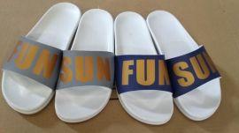 联钢008夏季新款欧美风格舒适平底透气塑料女式拖鞋
