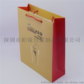 厂家高档礼品纸盒手提袋
