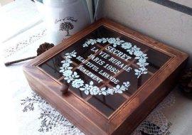 有機玻璃茶葉盒