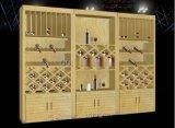 红酒展柜订做,红酒展厅设计,办公室红酒展柜供应厂家