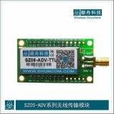 顺舟智能SZ05-ADV工业级嵌入式ZigBee无线数传模块