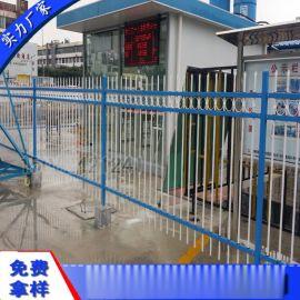 热镀锌钢护栏 清远拼装三横杆栅栏 惠州围墙隔离栅
