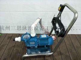 供应杭州泳池吸污机手推式吸污机
