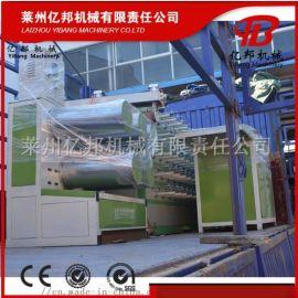 SJL塑料扁丝拉丝机,防尘网盖土网拉丝机设备