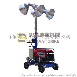 400w照明车思拓瑞克手推式移动照明车发电机广东