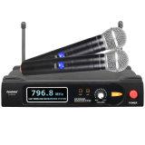 金泰陽U685U段無線定頻一拖二KTBV麥克風話筒