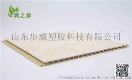 山东竹木纤维集成墙板竹木纤维快装板厂家