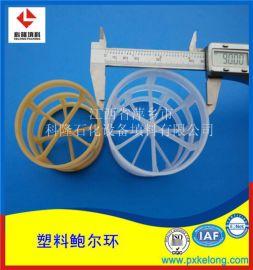 玻璃纤维增强型聚丙烯鲍尔环填料RPP米字型鲍尔环