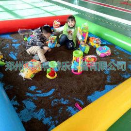 湖北宜昌儿童充气水池厂家定做广场摆摊四季皆宜